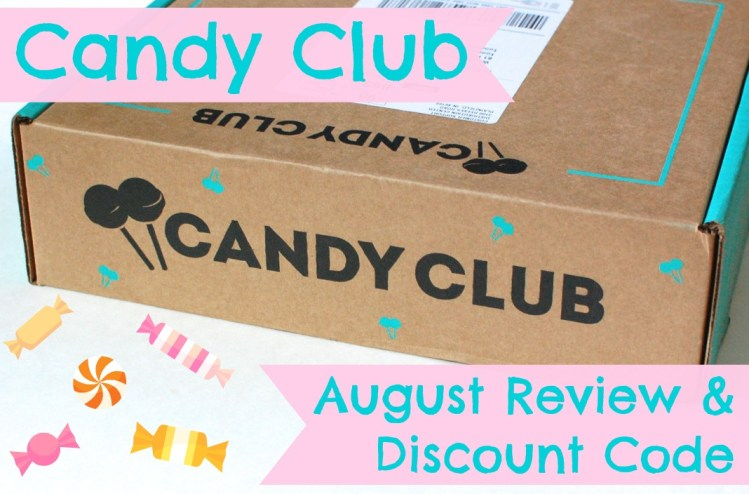 Candy Club Review & Discount Code! August 2014
