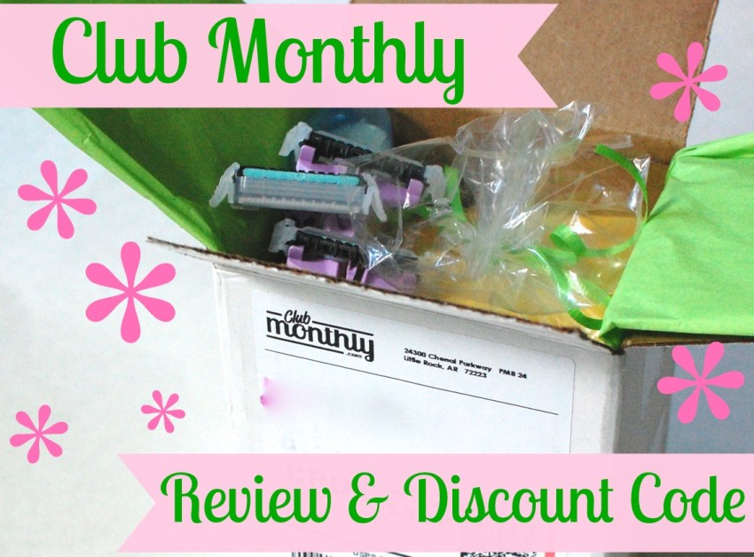 Club Monthly review & discount code.