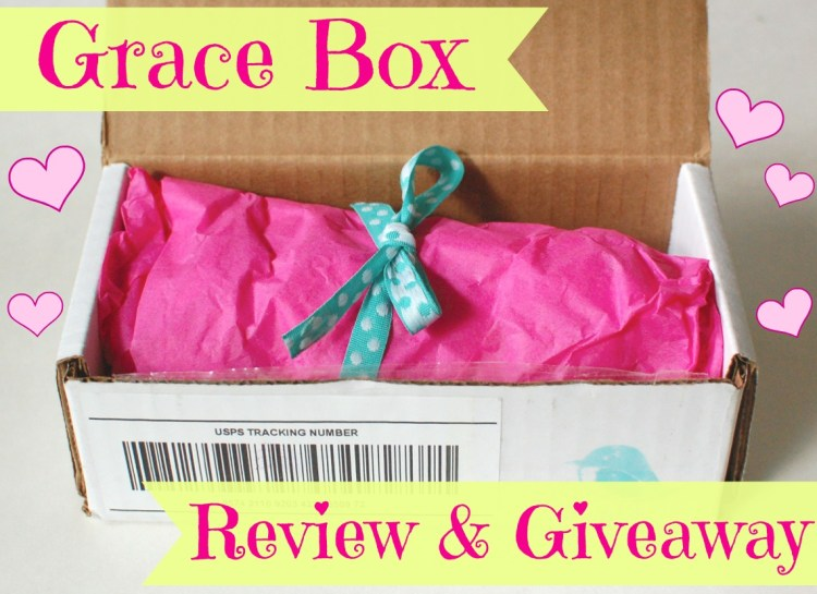 Grace Box Review & Giveaway! Ends 9/12/14