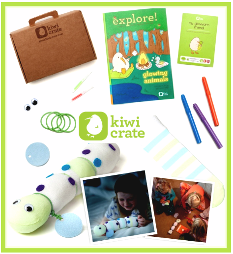 Kiwi Crate Glowworm Friend FREE Trial Kit