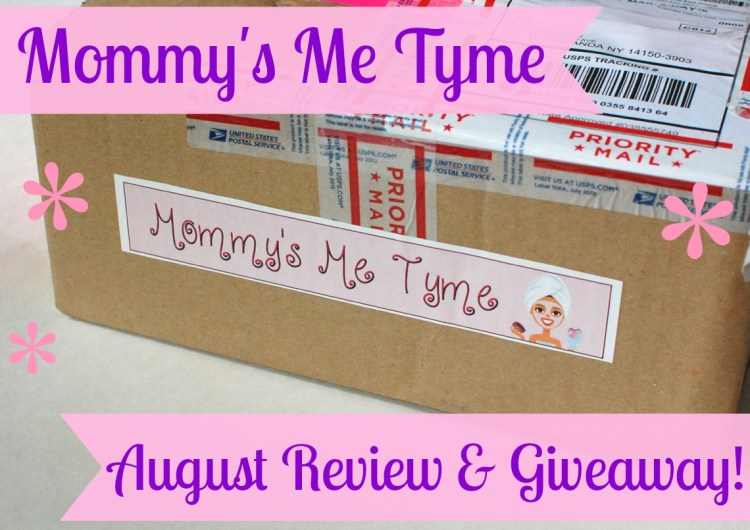 Mommy's Me Tyme August 2014 Review & Giveaway