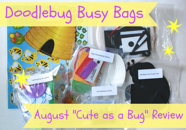 DoodleBug Busy Bag August 2014 Review