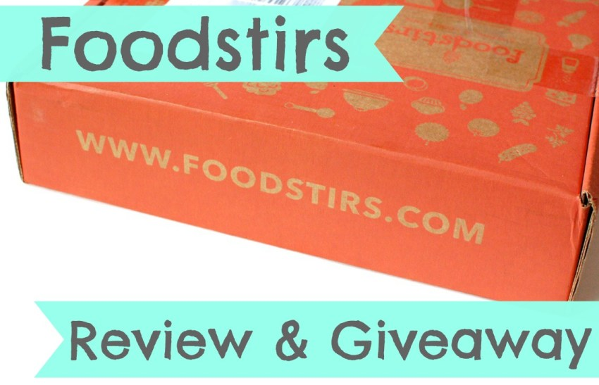 Foodstirs review & giveaway