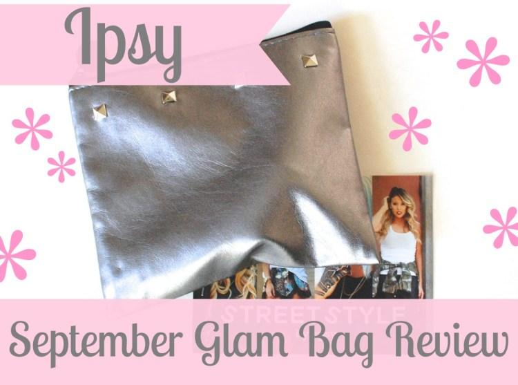 Ipsy Glam Bag September 2014 Review