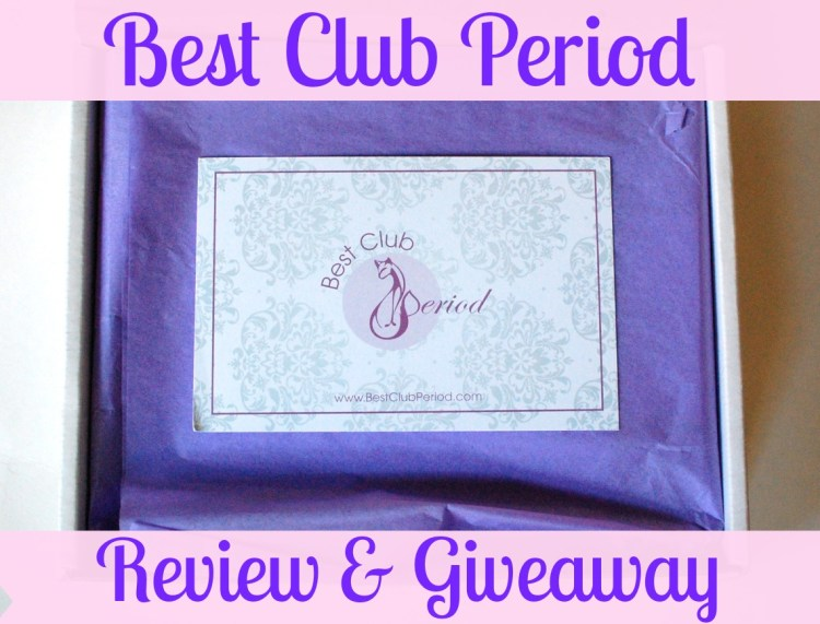 Best Club Period Box Review & Giveaway