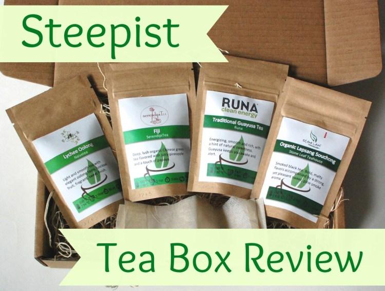 Steepist Tea Box Review