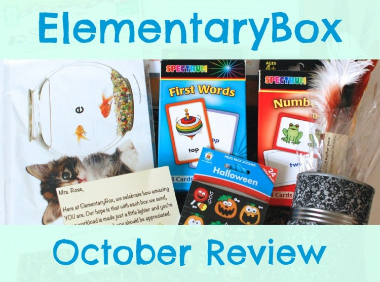 ElementaryBox October 2014 Review