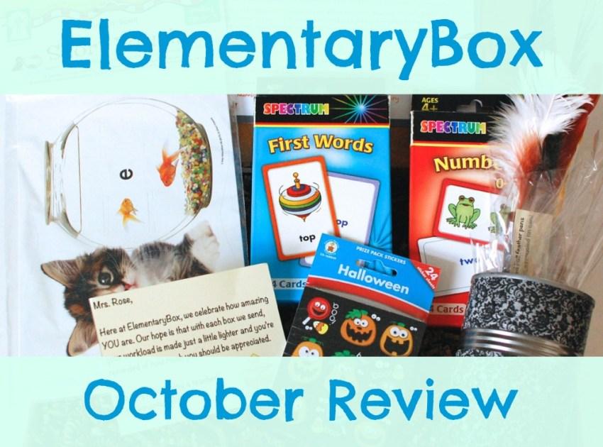 ElementaryBox October review