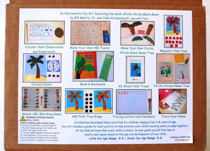 November Ivy Kids kit