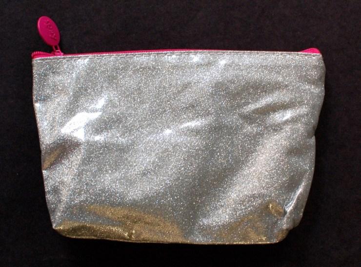 Ipsy glam bag silver glitter November 2014