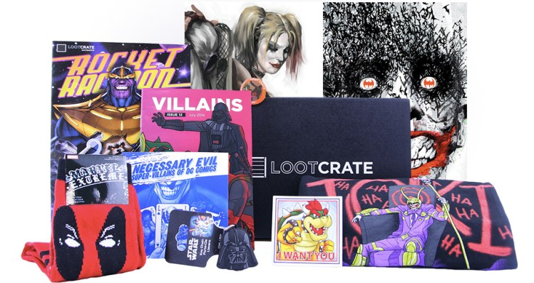 Loot Crate March 2017 Full Spoilers & 50% Coupon