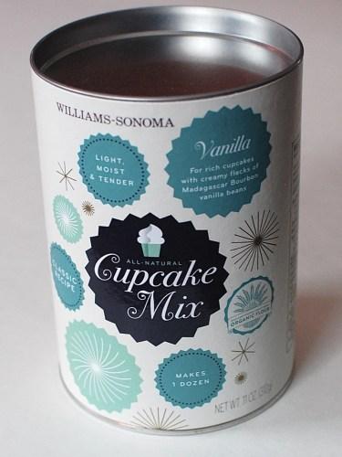 Williams-Sonoma cupcake mix