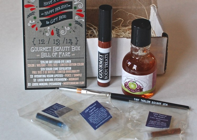 Gourmet Body Treats December 2014 Review