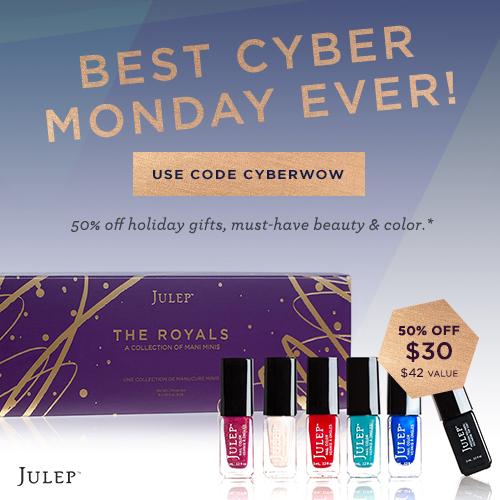 Julep Cyber Monday