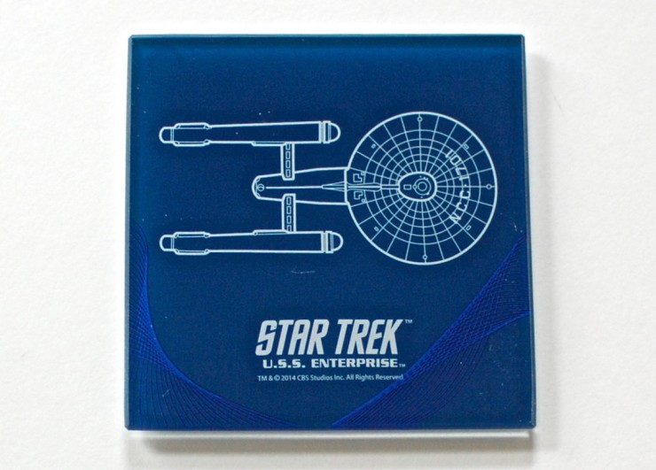 Star Trek coaster