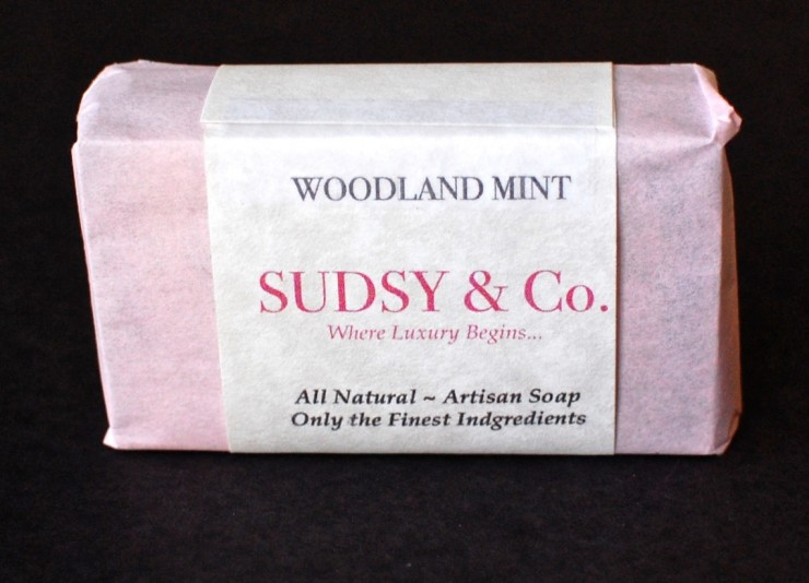 Woodland Mint soap