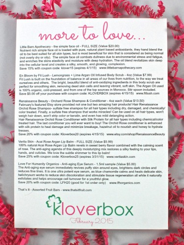 February Kloverbox