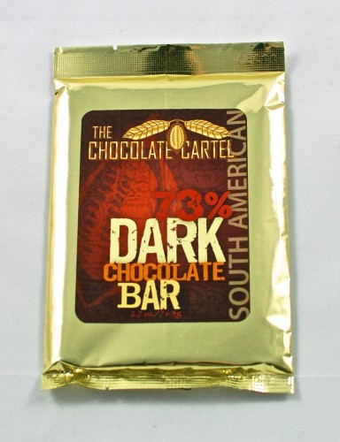 The Chocolate Cartel dark chocolate bar