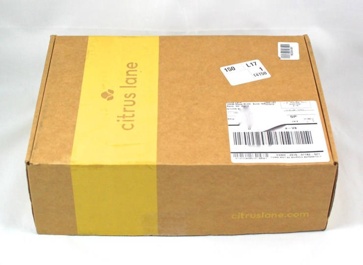 Citrus Lane box