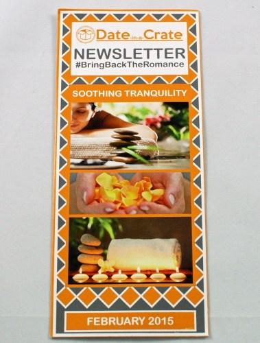 Date in a Crate newsletter