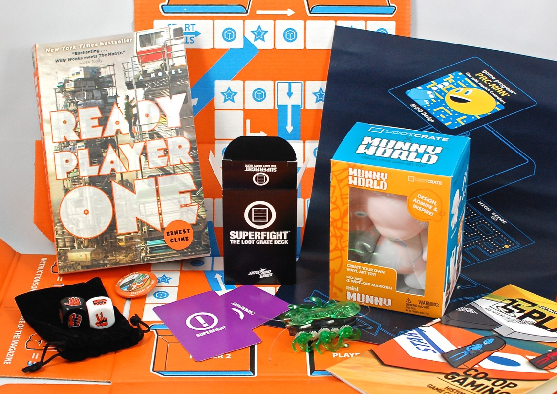 "Loot Crate February 2015 ""Play"" Review & Coupon Code - 2 ..."