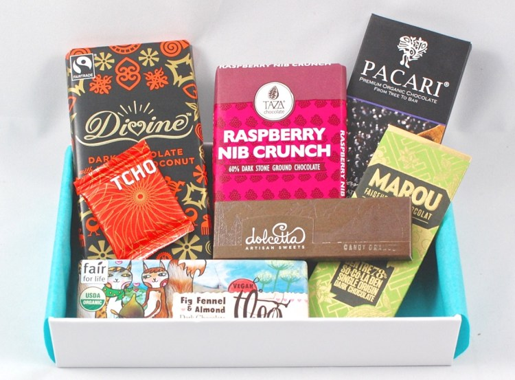 Chococurb February 2015 Chocolate Box Review