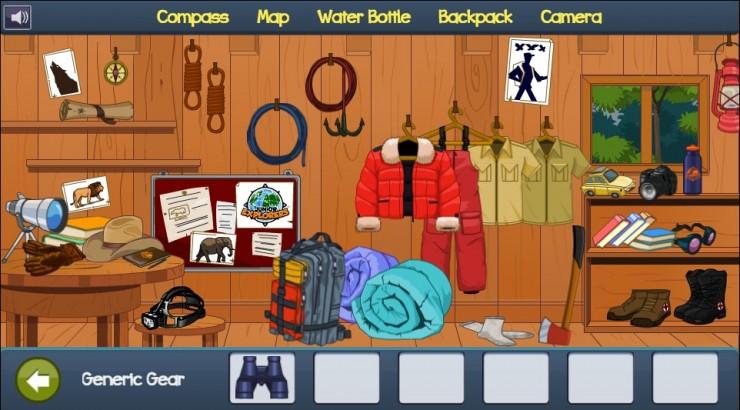 Junior Explorers game
