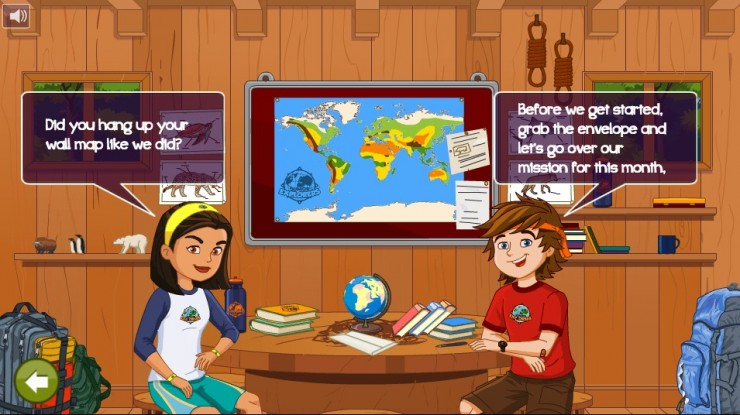 Junior Explorers online
