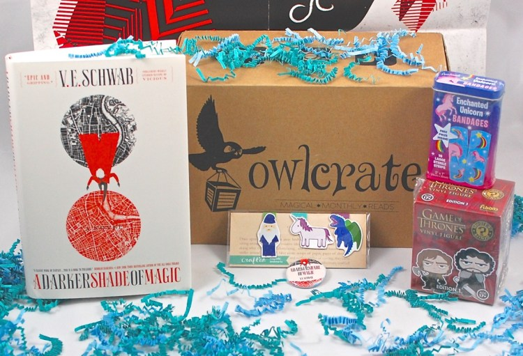 "OwlCrate March 2015 ""Fantasy"" Review"
