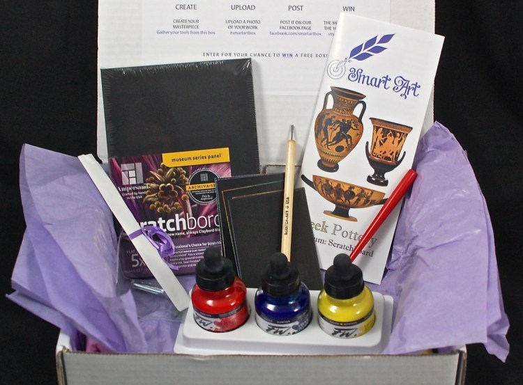 Smart Art Box March 2015 Review & Coupon Code