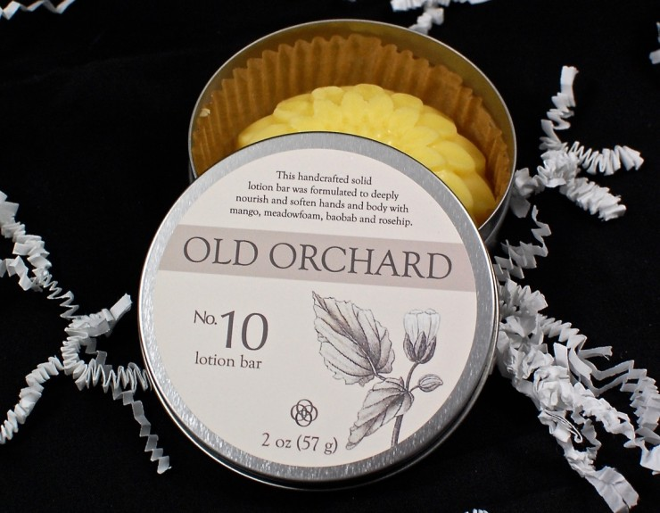 Old Orchard lotion bar