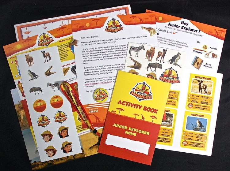 Junior Explorers Mission Serengeti Review & 50% Coupon Code
