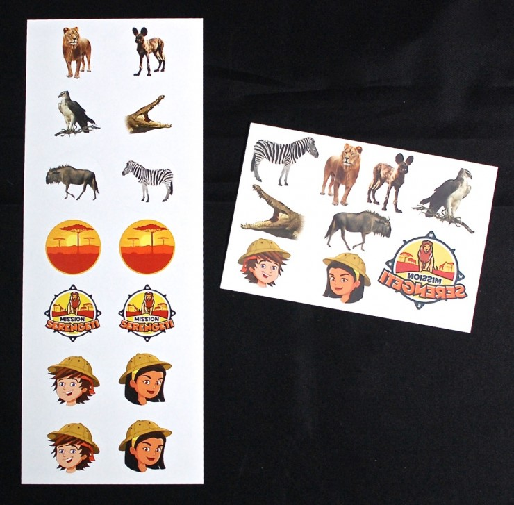 Junior Explorers stickers