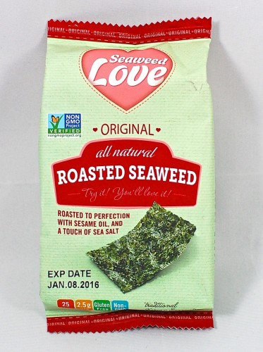 roasted seaweed
