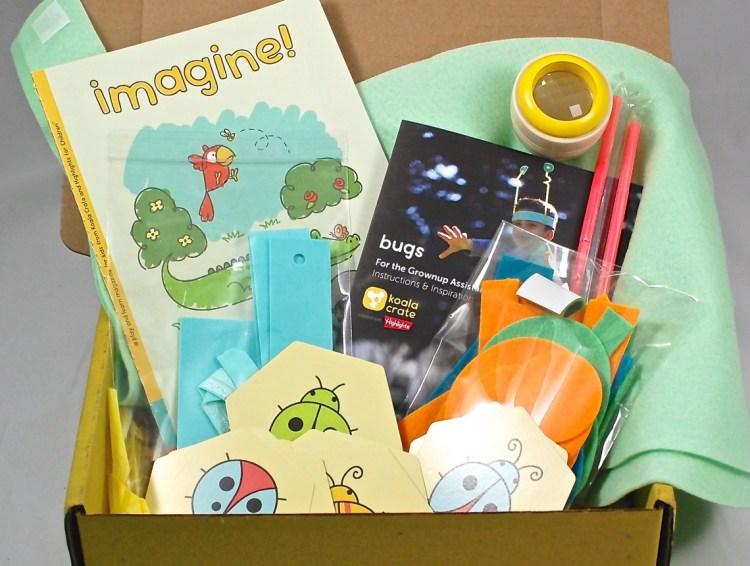 "Koala Crate ""Bugs"" Review & $10 Coupon Code"