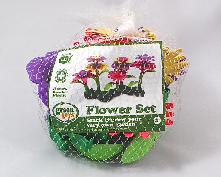 Green Toys Flower Set