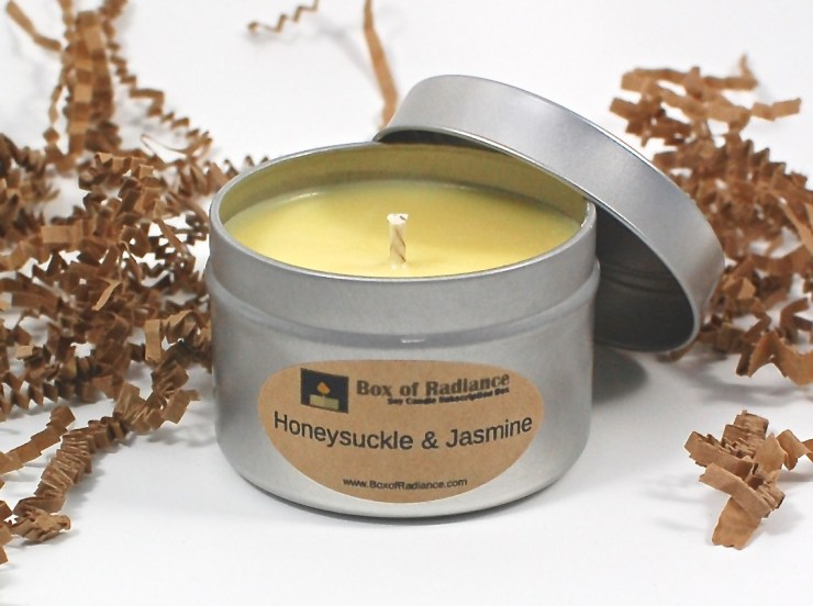 Honeysuckle & Jasmine candle