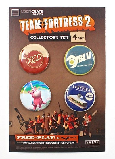 Team Fortress 2 pins