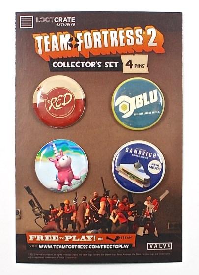 Team Fortress 2 pins
