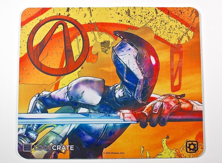 Borderlands game mat