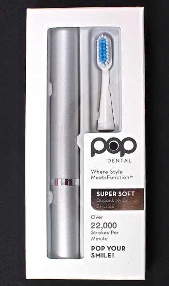 Pop toothbrush