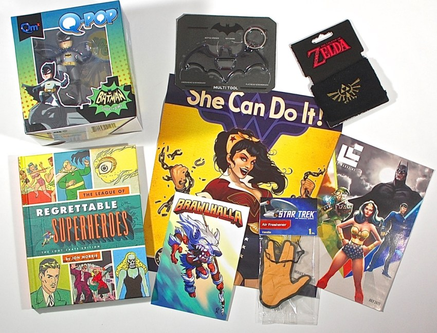 Loot Crate July 2015