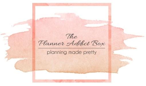 The Planner Addict Box