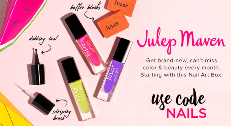 Julep: Free Welcome Boxes Galore! (4 to Choose From!)