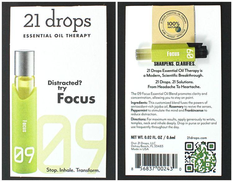21 Drops focus