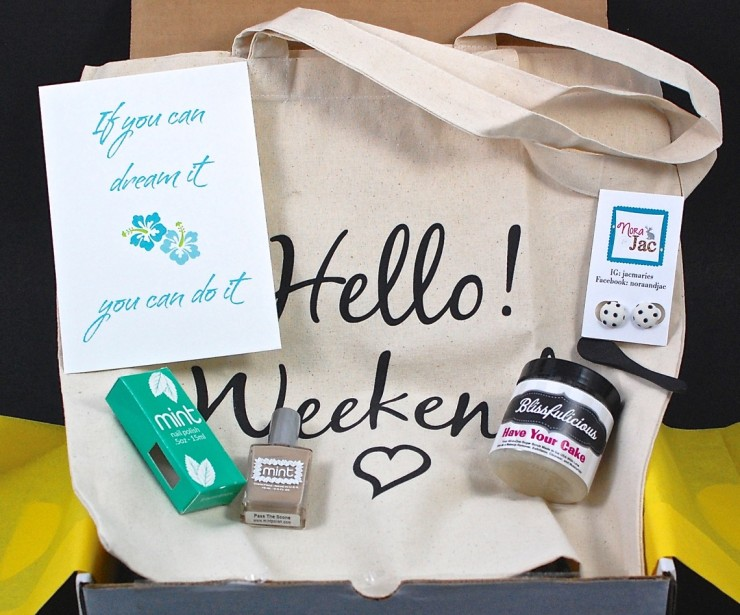 Hello! Bliss Box August 2015 Review & Coupon Code