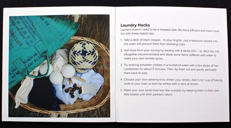 laundry hacks