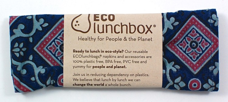 Eco Lunchbox napkin
