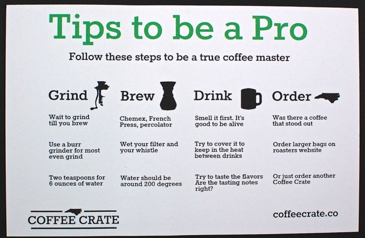 coffee tips