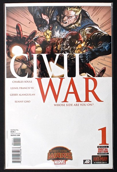 Civil War #1 comic